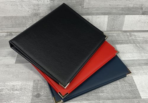 Real Leather Folders